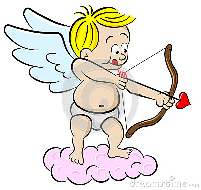 Free Cupid With Bow And Arrow Royalty Free Stock Images - 36491549