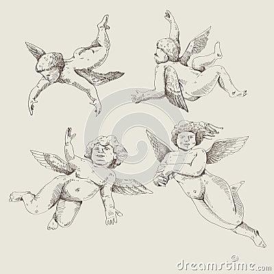 Cupids. Angels