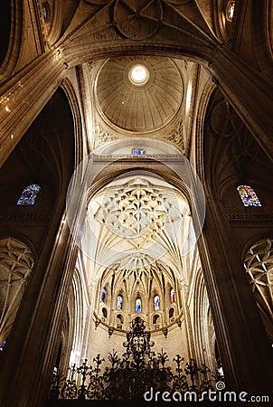Cupola in church