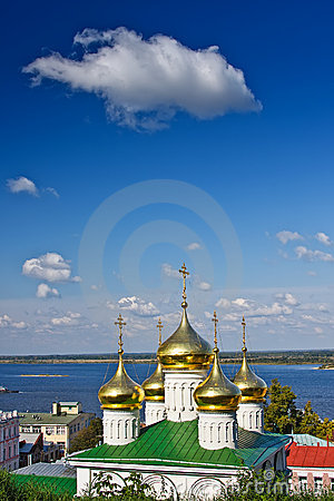 Cupola of John the Baptist church, Nizhny Novgorod