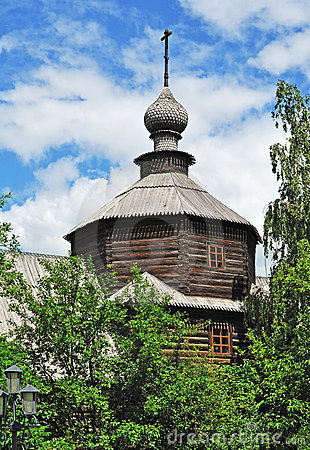 Free Cupola Of Ancient Church In Murom, Russia Stock Image - 19892041