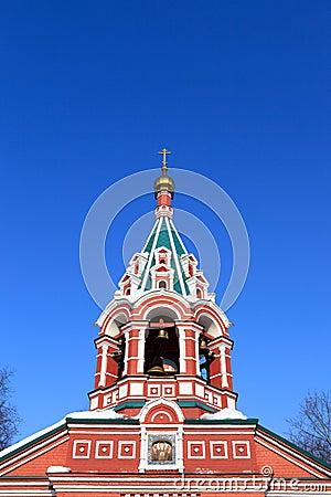 Cupola of Znamenskaya Church