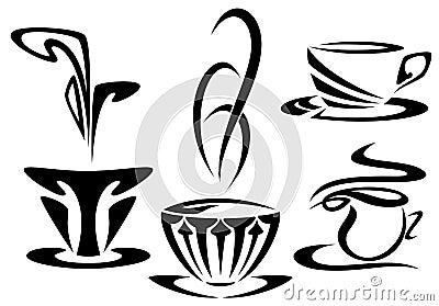 Cups design vector
