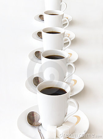 Free Cups Of Coffe Stock Photo - 2595050