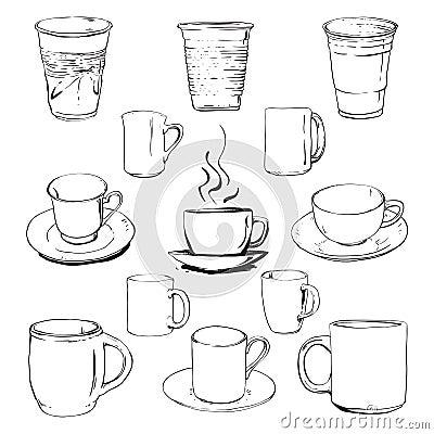 Cups set