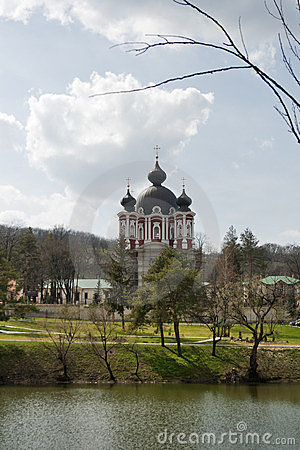 Curchi cathedral in Moldova