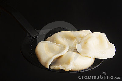 Curds dumplings