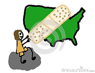 Cure o Estados Unidos
