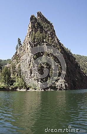 Curecanti Needle rock formation