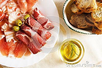 Cured pork meat