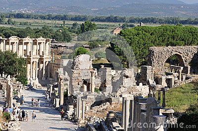 Curetes Street, Ephesus, Turkey