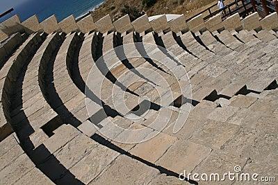 Curion amphitheatre. Cyprus