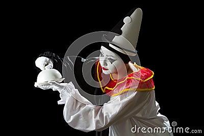 Curious Pierrot