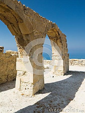 Curium arch Cyprus