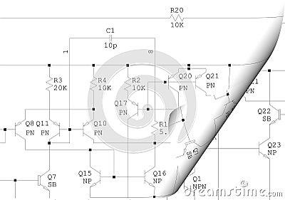 Curl electrical schematic diagram
