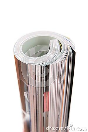 Curled magazine