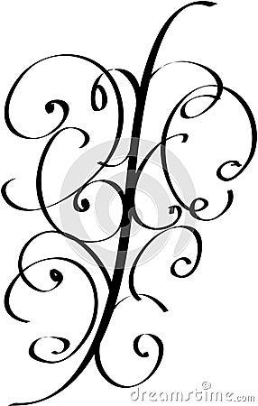 Curls Vector Illustration