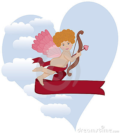 Curly Hair Cupid