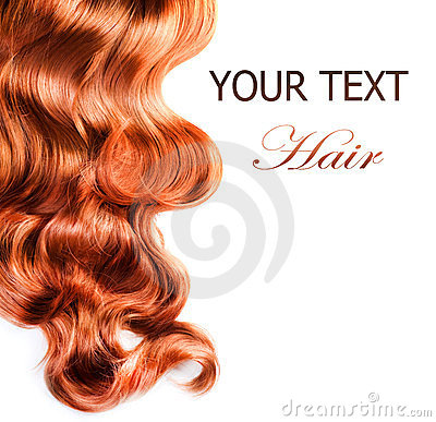 Free Curly Red Hair Stock Photo - 23730360