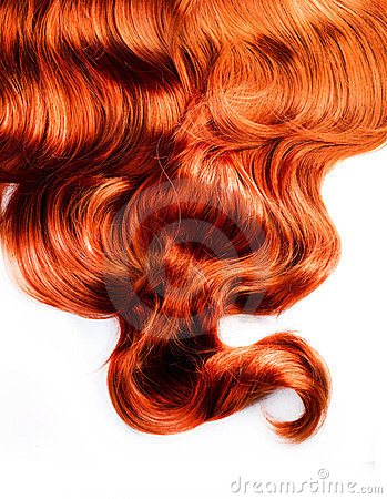 Free Curly Red Hair Stock Images - 23730804