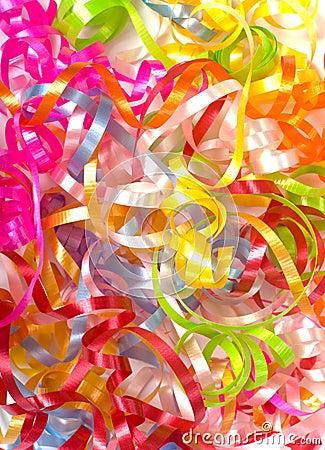 Free Curly Ribbon Background Stock Image - 3501941
