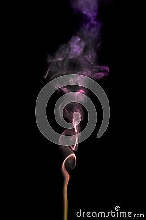 Curly smoke