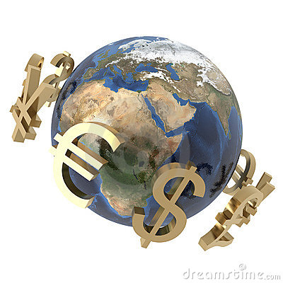Currencies around the world