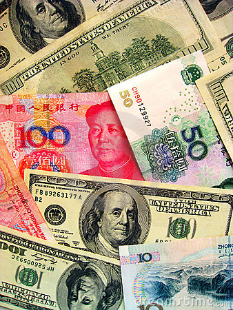 Currencies: US Dollar & China RMB