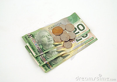 Currency - Canadian Money Editorial Stock Image