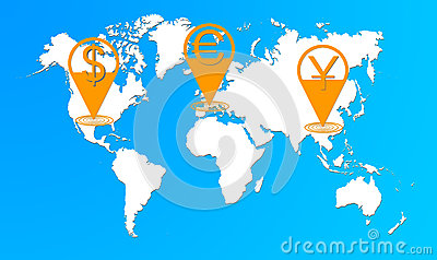 Currency chain of the world