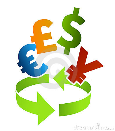 Currency converter clip art