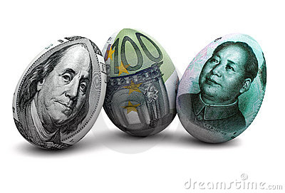 Currency eggs
