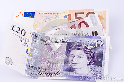 Currency Editorial Stock Image