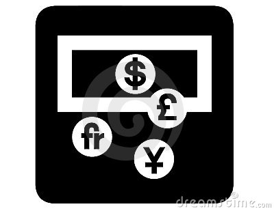 Currency exchange inverted