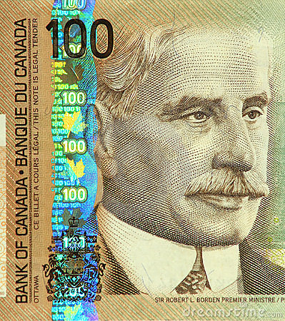 Current Canadian $100 Banknote
