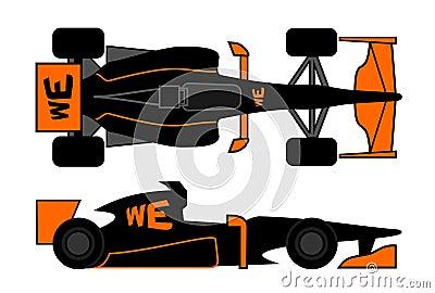 Current racing car