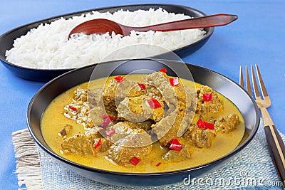 Curry Beef Madras