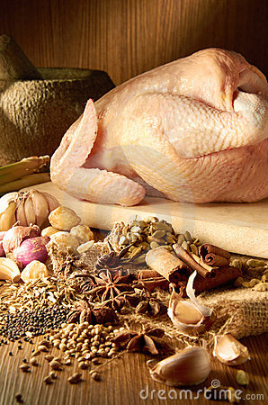 Curry Chicken Ingredient