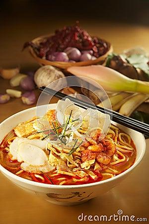 Curry Laksa Noddle