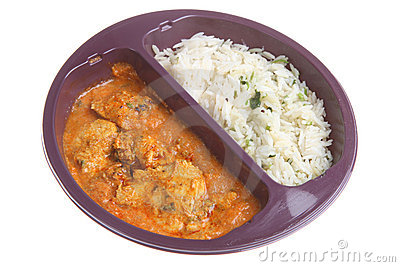 Curry Microwave Ready Meal