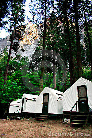 Free Curry Village, Yosemite National Park Royalty Free Stock Image - 1251786
