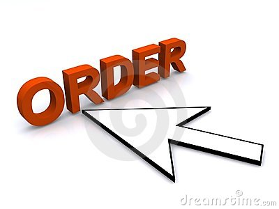 Cursor arrow and word order