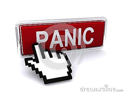 Cursor del ordenador y clave del pánico
