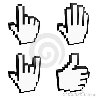 Free Cursors Royalty Free Stock Images - 9741759
