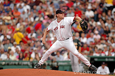 Curt Schilling Boston Red Sox Editorial Stock Photo