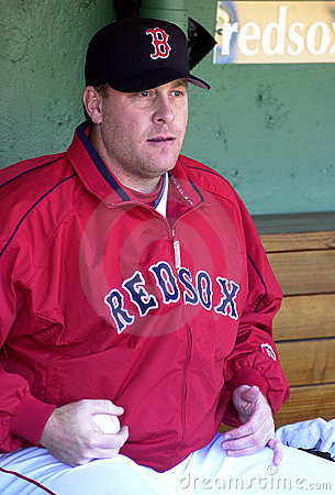 Curt Schilling Boston Red Sox Editorial Photo
