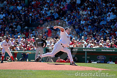 Curt Schilling Boston Red Sox Editorial Stock Image