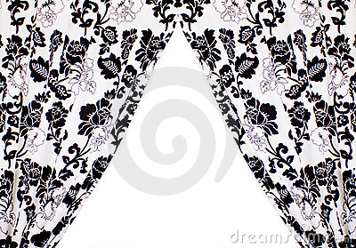 Curtains Royalty Free Stock Image - Image: 17245376