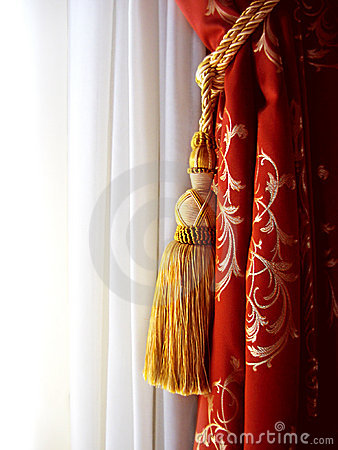 Free Curtains Royalty Free Stock Photo - 6153605