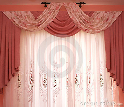 Curtains Royalty Free Stock Photography - Image: 8350067